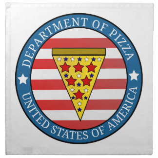 Department of Pizza Napkin