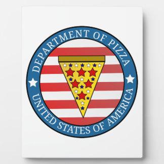 Department of Pizza Plaque
