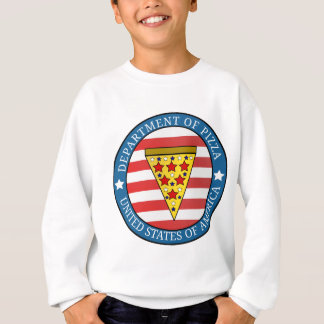 Department of Pizza Sweatshirt