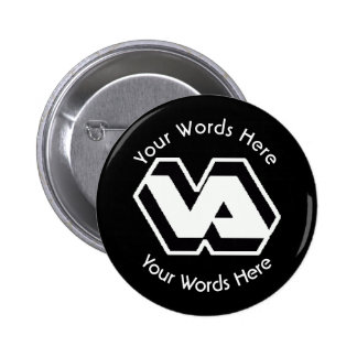 Department of Veterans Affairs VA Logo 2 Inch Round Button