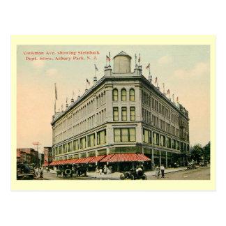 Department Store, Asbury Park, New Jersey Vintage Postcard