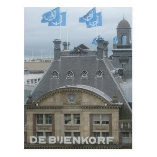 Department store postcard