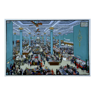 Department Store Poster