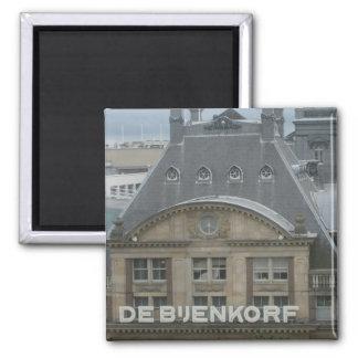 Department store square magnet