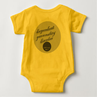 Dependent Personality Disorder Baby Bodysuit