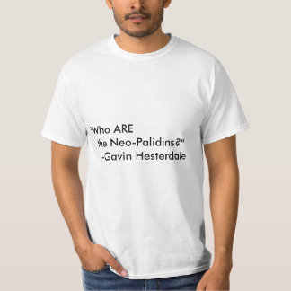 Depleted Neo-Palidins Shirt