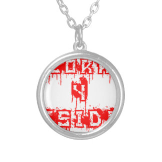 Deplorable 4 President Silver Plated Necklace