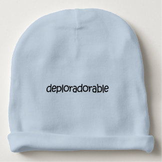 Deplorable + Adorable? Deploradorable! Knit Hat Baby Beanie