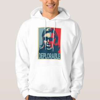 DEPLORABLE Anti-Hillary Clinton Hoodie