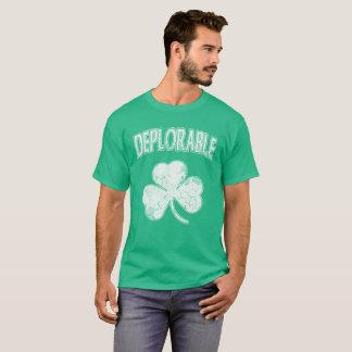 Deplorable Irish Shamrock T-Shirt