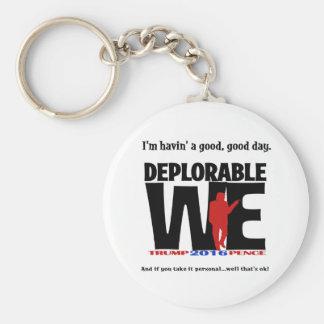 Deplorable Key Chain