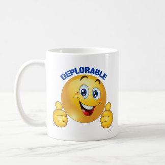 Deplorable smiley mug