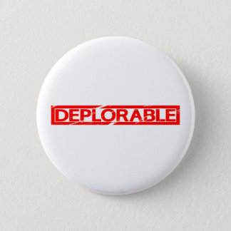 Deplorable Stamp 2 Inch Round Button