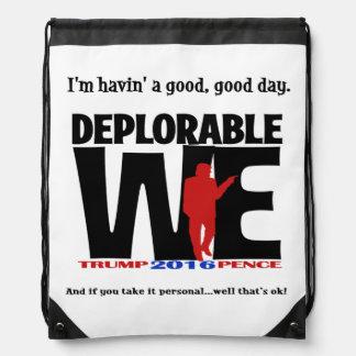 Deplorable Tote Bag