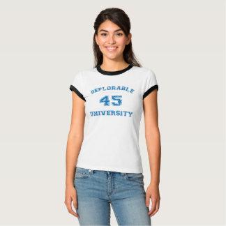 Deplorable U 3 shirt in blue