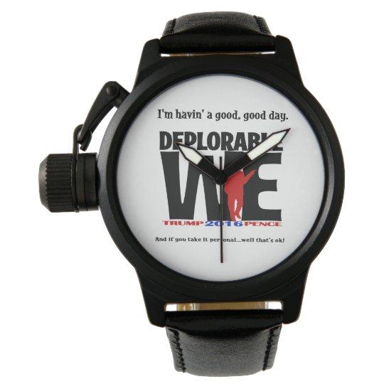 Deplorable Watch