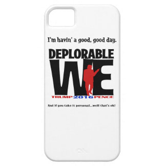 Deplorable We Iphone case