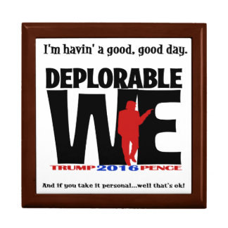 Deplorable WeGift Box... for poker chips and more. Gift Box