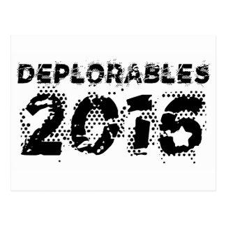 Deplorables 2016 postcard