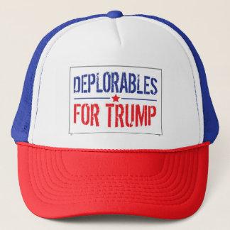 DEPLORABLES FOR TRUMP HATS