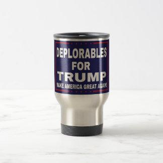 Deplorables for Trump Phone Mug
