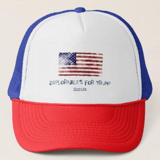 DEPLORABLES FOR TRUMP TRUCKER HAT