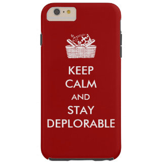 Deplorables iPhone Case