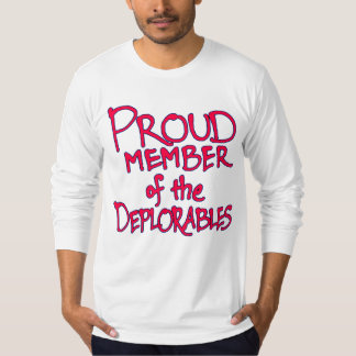Deplorables Jersey Long-Sleeve T-Shirt (Red)