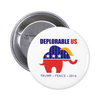 DeplorableUS 2 Inch Round Button