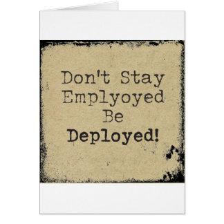 Deployed Card