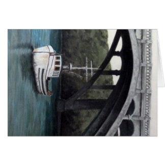 Depo Bay Fishing Boats Card
