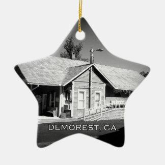 DEPOT - Demorest, Georgia Ceramic Ornament