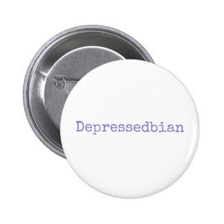 depressedbian 2 inch round button