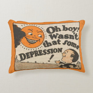 Depression!! Decorative Pillow