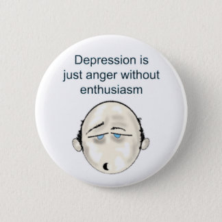 depressionblk T 2 Inch Round Button