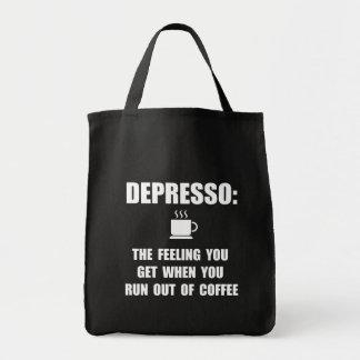 Depresso Coffee Tote Bag