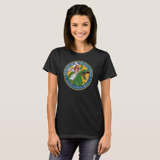 Dept. of Education - Jesus on a T-Rex (F) T-Shirt