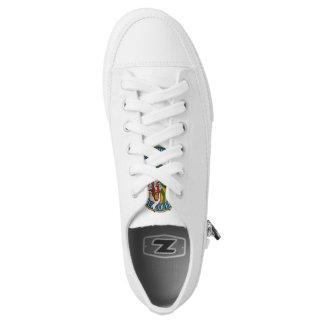 Dept. of Education - Jesus on a T-Rex Low-Top Sneakers