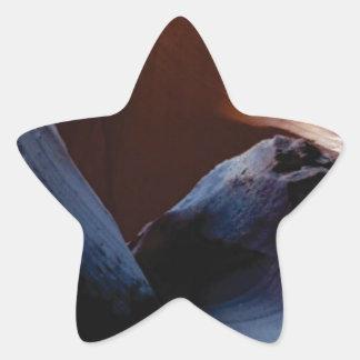 depth of rocks star sticker