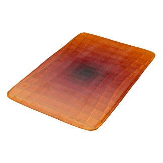 Depth of shade at bath mat