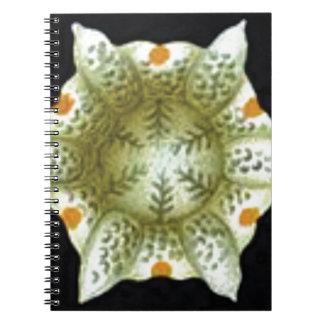 depth of the white flower notebook