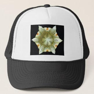 depth of the white flower trucker hat
