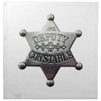 DEPUTY CONSTABLE NAPKIN