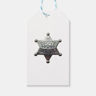 DEPUTY CONSTABLE PACK OF GIFT TAGS