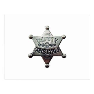DEPUTY CONSTABLE POSTCARD