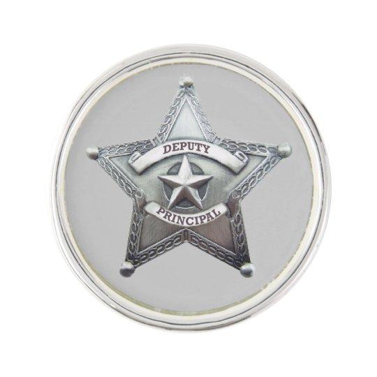 Deputy Principal Badge Lapel Pin