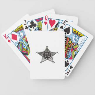 Deputy Sheriff Bicycle Playing Cards