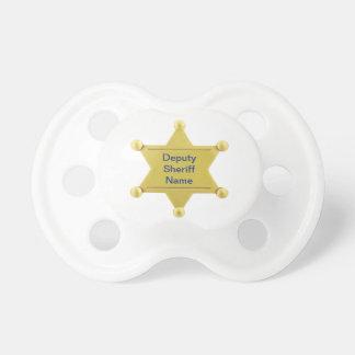 Deputy Sheriff Custom Pacifier