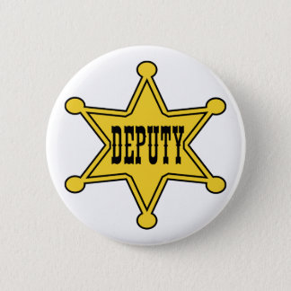 Deputy Sheriff Pin Back Badge