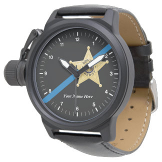 Deputy Sheriff Thin Blue Line Watch